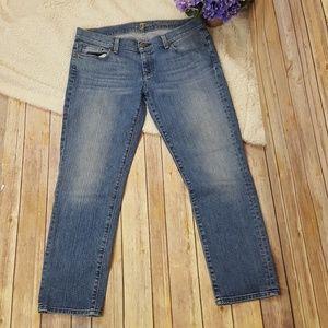 7 FAM Crop Jeans